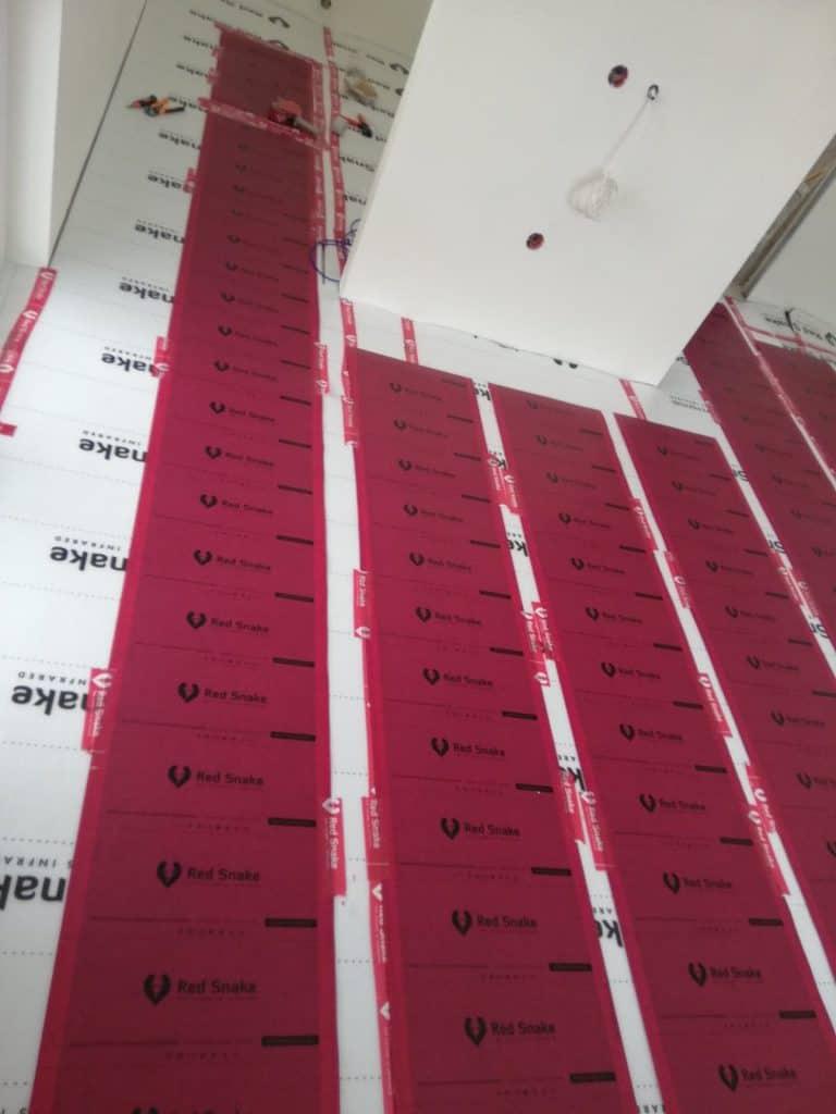 System grzewczy Redsnake-domek drewniany do 35m2